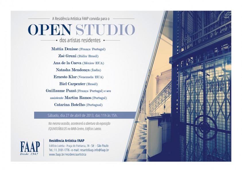 Open Studio 27-04-13_Residencia Artistica FAAP_SP